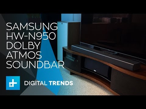Samsung HW N950 Dolby Atmos Soundbar – Hands On Review