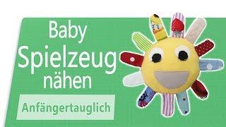 Eigenes Spielzeug für Babies nähen [perfekt für Stoffreste]