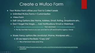 How To Write Insurance Policies With Facebook, Wufoo, and DYL