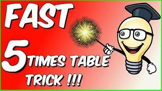 FAST 5 times table trick!!!
