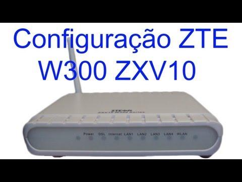 ZTE ZXV10 W300 MODEM TÉLÉCHARGER FIRMWARE