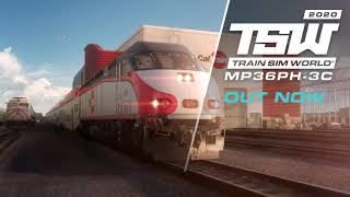 VideoImage1 Train Sim World®: Caltrain MP36PH-3C 'Baby Bullet' Loco Add-On