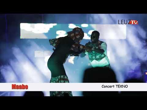 Viidéo: Maabo a séduit le public au concert de tekno au monument de la renaissance
