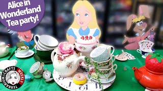 DIY ALICE IN WONDERLAND TEA PARTY IDEAS, Mad Hatters Tea Tablescape