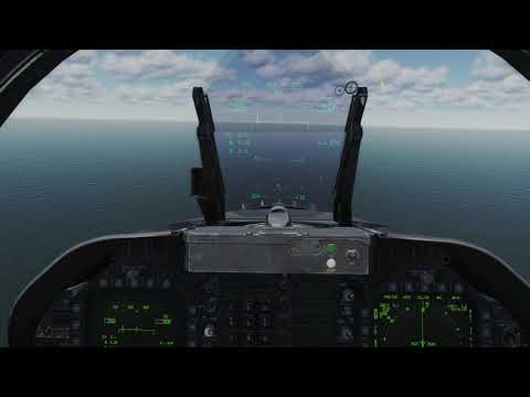 DCS F18C: Mission Blanker's case 1 recovery [FR]