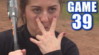 CIARA ALMOST DIES! | Offseason Softball League | Game 39