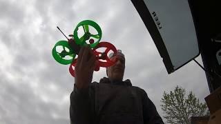 Reddog 1 First Flight - Flying a quadcopter I designed