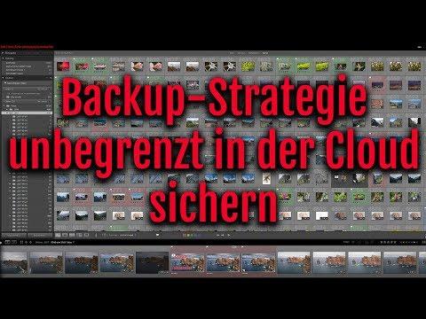 Backup-Strategie für Fotografen - unbegrenzt Fotos in der Cloud sichern - kostenlos