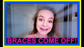 #GIRL PROBLEMS | BRACES COME OFF!