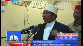 Serikali ya Tanzania imepiga marufuku usafirishaji wa mahindi nje ya nchi