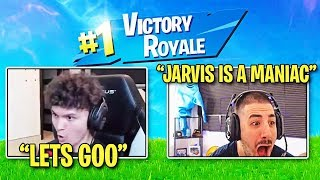 FaZe Nickmercs Reacts to me WINNING in Fortnite World Cup