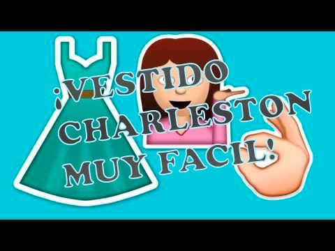 Vestido Charleston ¡MUY FÁCIL!// Lysandra G.