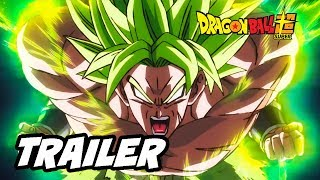 Dragon Ball Super Broly Trailer 3 - Goku vs Broly Legendary Super Saiyan Breakdown