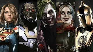INJUSTICE 2 - All Super Moves 2017 (All Characters)