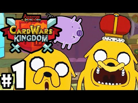 Download Card Wars Kingdom Adventure Time Gameplay Walkthrough PART 1 Jake's New Floop! Android IOS App HD HD Mp4 3GP Video and MP3