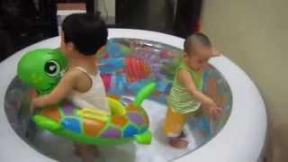 Надувной бассейн для детей Intex 58480, 152х56 см, 3 воздушные камеры от компании Большая ярмарка - видео
