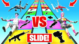 SLIDE For our LOOT in Fortnite Battle Royale