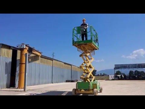 Piattaforma ITECO a pantografo. Califano Carrelli Spa