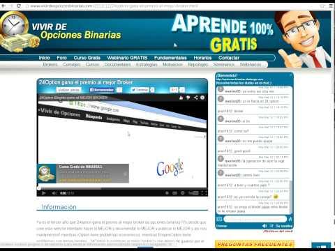 Curso online gratis opciones binarias