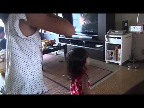 9歳(小学生)脇エロ女児が、幼女と踊ってみた・・ら!?