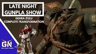 Late Night Gunpla Show 06: HG 1/144 Geara Zulu Complete Transformation