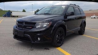 preview picture of video '2014 Black Dodge Journey SXT Blacktop Newmarket Ontario | MacIver Dodge Jeep'