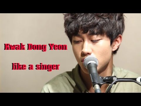 Kwak Dong Yeon as a singer