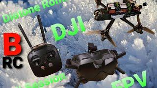 Diotone Roma F5 DJI FPV System Fall SESSION