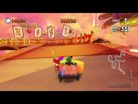 """Crash Team Racing Nitro Fueled: Sfida """"Maestro dei punti"""" - 700.000 punti in Caccia agli Anelli su V"""