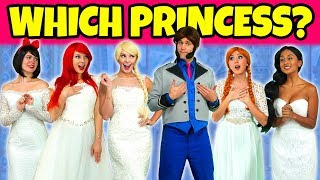 SHOULD ELSA OR ANNA MARRY HANS? (Or Should Ariel, Jasmine or Snow White) Totally TV Pretend Play