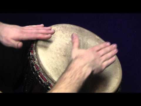 Hra na djembe - 11, Kouzelný les   celá skladba