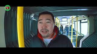 ИСТЕРИКА в АВТОБУСЕ. Как работает Астана ЛРТ ?