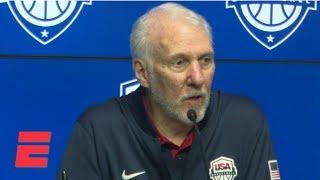 Popovich credits Australia for snapping Team USA's 78-game win streak | NBA on ESPN