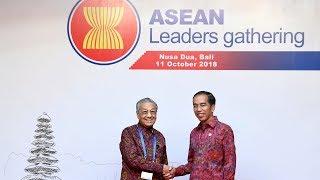 Tun M addresses Asean leaders in Bali