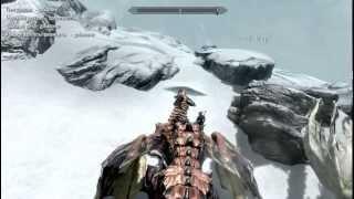 Skyrim Мод превращение в дракона Kludge 18 +