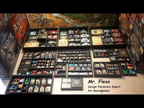 Mr. Fless Free Plan for Legends of Andor Custom Insert