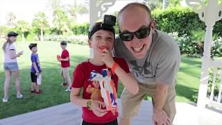 Nerf War :  Superhero Kids take on Twin Toys! (Twin Toys)