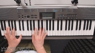 Видео Casio CTK-1300 Синтезатор