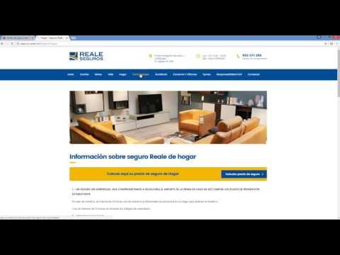 Diseño web en Jaén para agente de Seguros Reale