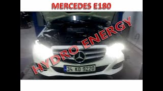 Mercedes E180 hidrojen yakıt sistem montajı