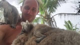 Tari Mannello on Necker Island with Sir Richard Branson