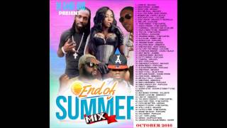 NEW DANCEHALL MIX – END OF SUMMER DANCEHALL MIX 2016 – MIXED BY DJ DANE ONE