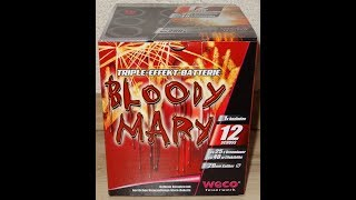 Weco Bloody Mary - immer ein muss !