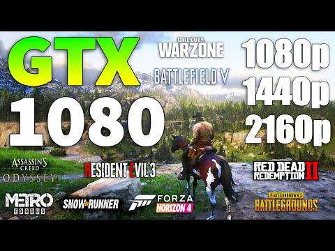 GTX 1080 在1080p l 1440p l 2160p 遊戲效能上的表現