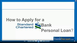 How to apply for a Standard Chartered Bank Personal Loan