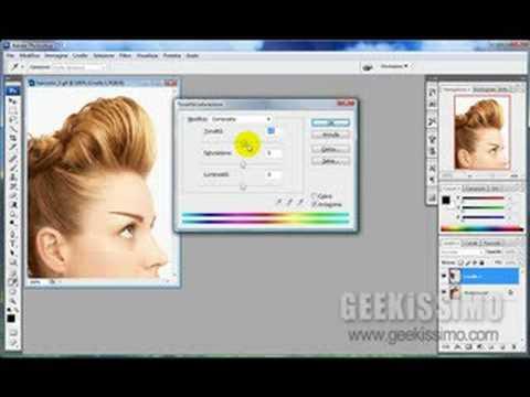 Video Tutorial: come cambiare il colore dei capelli in Photoshop