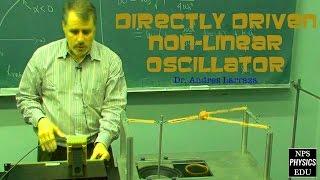nonlinear oscillations - The directly driven nonlinear oscillator demo