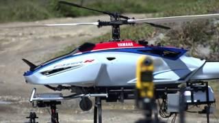 Обзор дрона бензо-вертолета Yamaha Fazer RG2