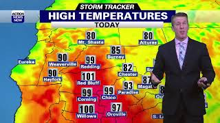 High heat and high fire danger continue...