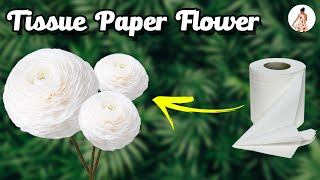 DIY Toilet paper rolls craft idea | how to make flowers using tissue paper rolls